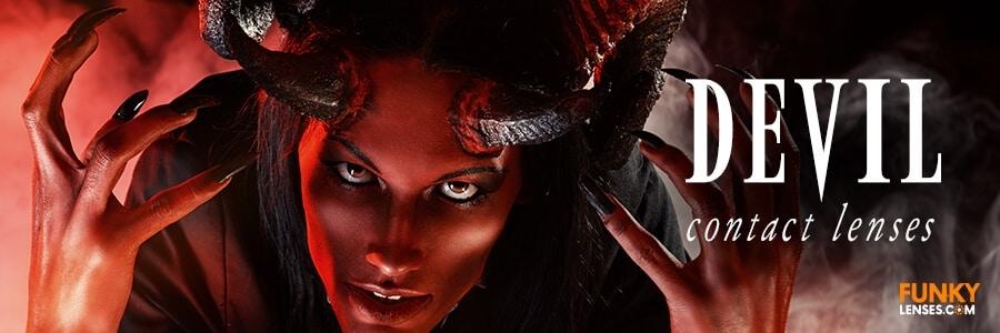 Devil Contact Lenses