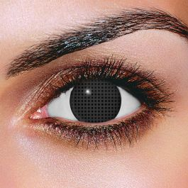 Black Mesh Contact Lenses