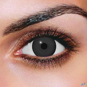 Mini Sclera Black Contact Lenses