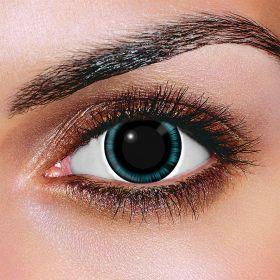 Blue Manga Contact Lenses