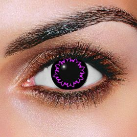 Big Eye Butterfly Violet Contact Lenses (Pair)
