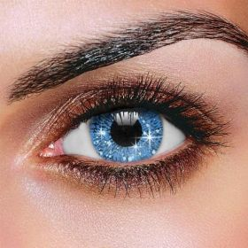 Glimmer Blue Contact Lenses