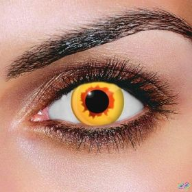 Gold Vampire Contact Lenses (Pair)