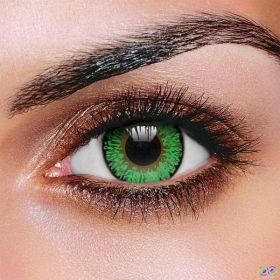 Green Three Tone Contact Lenses