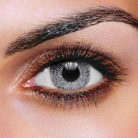 Grey One Tone Contact Lenses