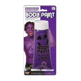 Halloween Purple Body Paint
