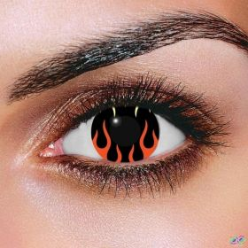 Hell's Flame Contact Lenses
