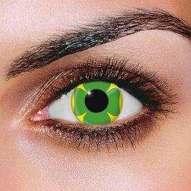 Lucky Clover Contact Lenses (Pair)