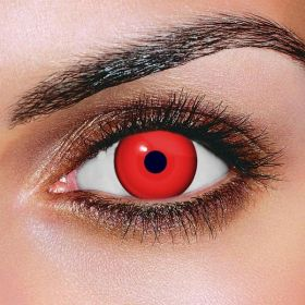 Mini Sclera Red Contact Lens 2