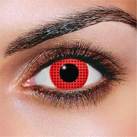 New Red Mesh Contact Lenses