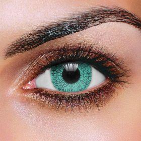 Aqua One Tone Contact Lenses (Pair)