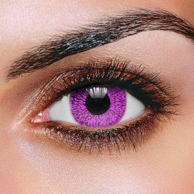 Violet One Tone Contact Lenses (Pair)