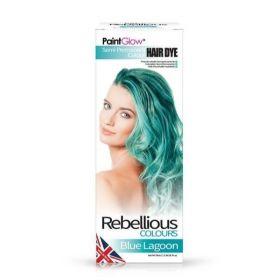 PaintGlow Blue Lagoon Semi-Permanent Hair Dye