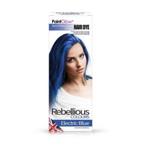 PaintGlow Electric Blue Semi-Permanent Hair Dye