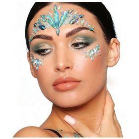 PaintGlow Iridescent Mermaid Face Jewels