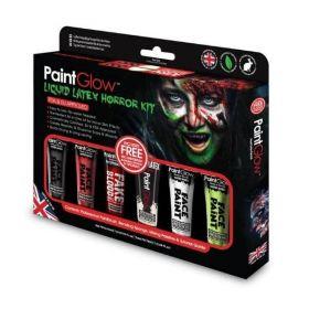 PaintGlow Liquid Latex Horror Paint Kit