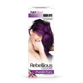 PaintGlow Purple Fury Semi-Permanent Hair Dye