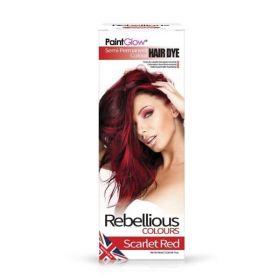 PaintGlow Scarlet Red Semi-Permanent Hair Dye