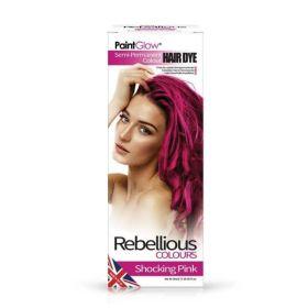 PaintGlow Shocking Pink Semi-Permanent Hair Dye