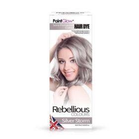 PaintGlow Silver Storm Semi-Permanent Hair Dye