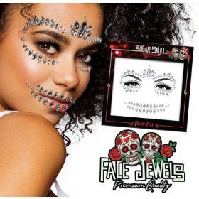 PaintGlow Sugar Skull Face Jewels