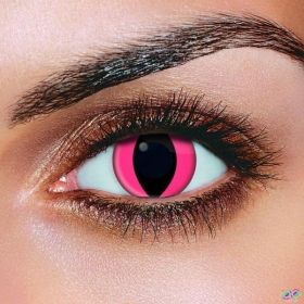 Pink Eye Contact Lenses