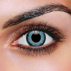 Prescription Fusion Blue & Gray Contact Lenses