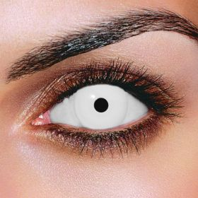 Prescription Mini Sclera White Contact Lenses
