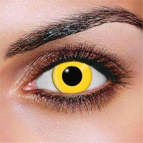 Prescription Yellow Block Contact Lenses