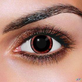 Red Manga Contact Lenses