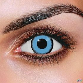 Saw Blue Contact Lenses
