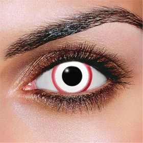 Saw White Contact Lenses