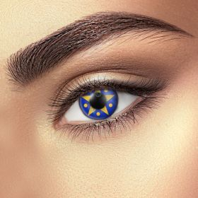 Silent night contact lenses