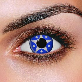 Silver Star Contact Lenses (Pair)