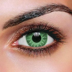 Solar Green Colored Contact lenses (Pair)