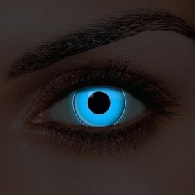 UV Blue Contact Lenses