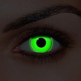UV Green Contact Lenses