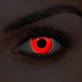 UV Red Contact Lenses