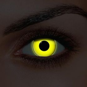 UV Yellow Contact Lenses