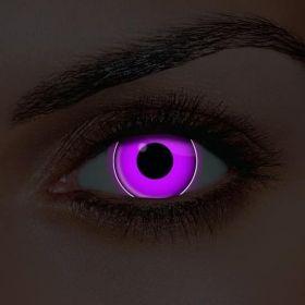Violet UV Contact Lenses