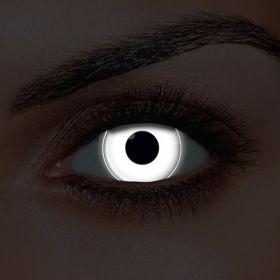 i-Glow Eyes White UV Contact Lenses (Pair)