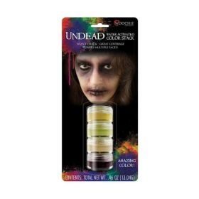 Woochie Undead Zombie Makeup Stack
