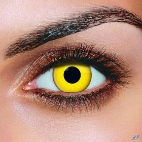 Yellow Eye Contact Lenses (Pair)