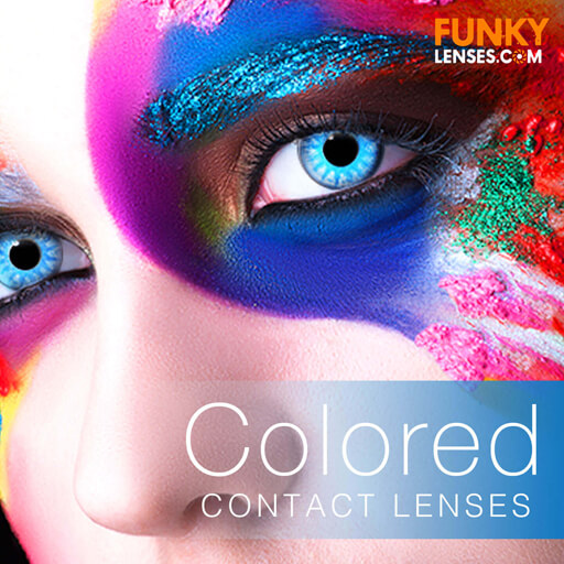 funky lenses halloween contact lenses